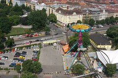 Vienna Prater from above