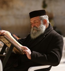 Studying @ the Kotel by lev_cap
