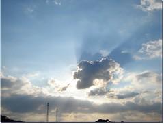 Entrando no trabalho (*Tuvy*) Tags: sky cloud sun sol sunrise céu sp nuvem nascerdosol valinhos tuvy duetos