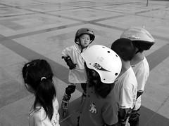 DSC07731 (Matthew Stinson) Tags: china park people blackandwhite kids sony skating tianjin dscf828 nankaidistrict nankaisquare