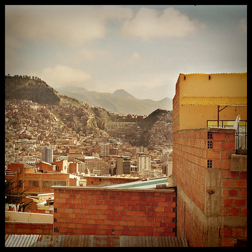 La Paz , seen from El Alto