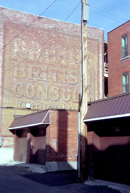 British Consol cigarettes