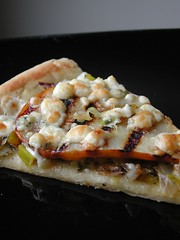 Carmelized Leek Pizza
