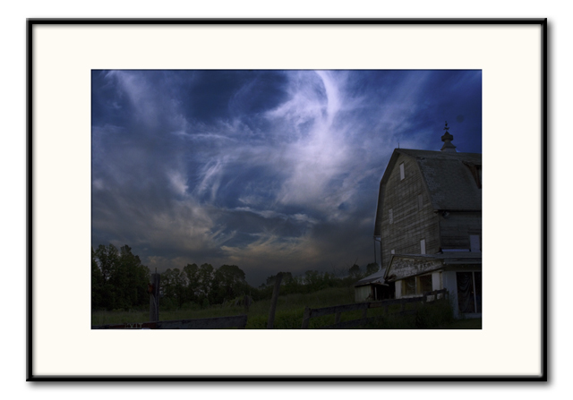 Barn Dark Sky