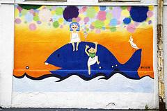 Graffito (ajpscs) Tags: street japan graffiti tokyo nikon streetphotography d100 ajpscs nikonstunninggallery norulesnolimitationsnoboundariesitslikeanart