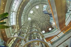 Haneda Airport Terminal 2 05 (Camera Freak) Tags: building japan architecture modern japanese tokyo airport nikon asia elevator escalator d200 hdr concourse haneda photomatix tokyoairport nikond200 tonemapped tonemapping 5xp 5expmodern