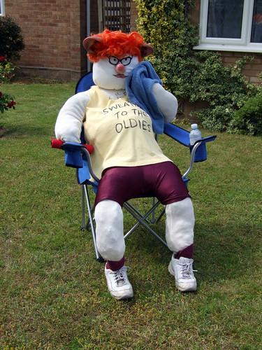 Barton Mills Scarecrow festival