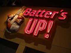 BATTER'S UP!