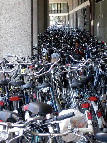 Sea of bicycles (by Edwinek)