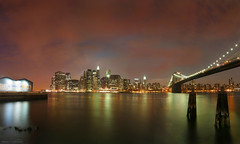 Brooklyn Works (TIMVANdotCOM) Tags: city nyc newyorkcity bridge urban nycpb skyline brooklyn cityscape manhattan eastriver works top20night top20flickrskylines brooklynworks