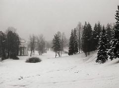 sledding hill, Pavlovsk Palace, Tsarskoe Selo, Russia - by lumierefl