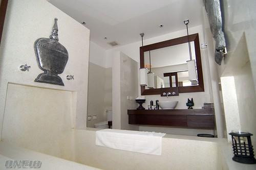 Hotel De La Paix 的浴室