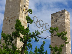 Olympic Rings from the Olympia Stadium in Berlin
