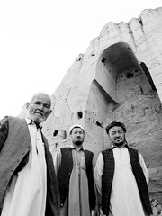 Afghans at Bamyan