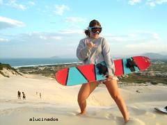de volta (alucinados) Tags: floripa sand dunas sandboard joaquina alucinados monicarlsson