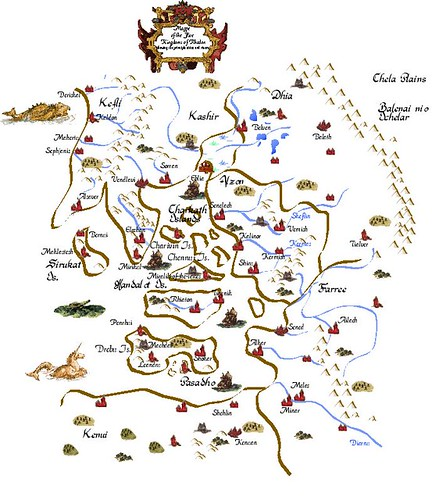 The Five Kingdoms of Rhadon