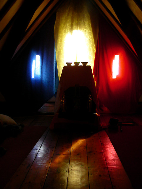 Navasamaya community shrine, in roof space of LBC