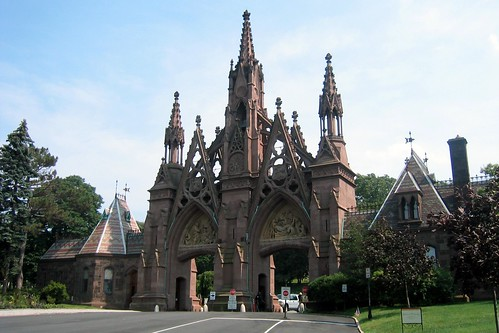 Brooklyn - Green-Wood Cemetery: Cemetery Gate by wallyg, on Flickr