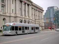 Silver Line Bus Rapid Transit, Euclid Avenue, Cleveland