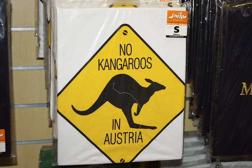 No Cangoos in Austria