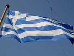 / Bandiera greca (Luigi Rosa has moved to Ipernity) Tags: white blu flag greece grecia bianco bandiera ellas sporades 111v1f alonissos thessaly   sporadi