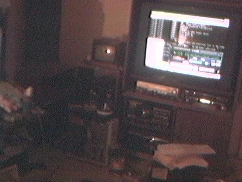 2001 - computer - Storm - 36-inch TV-out winamp - ollld setup