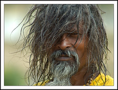Sadhu at Sangam 01 (Arif Siddiqui) Tags: portrait people india portraits faces arunachalpradesh