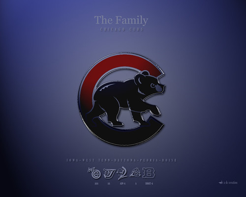 Chicago Cubs The Family Wallpaper by B.J. Millican