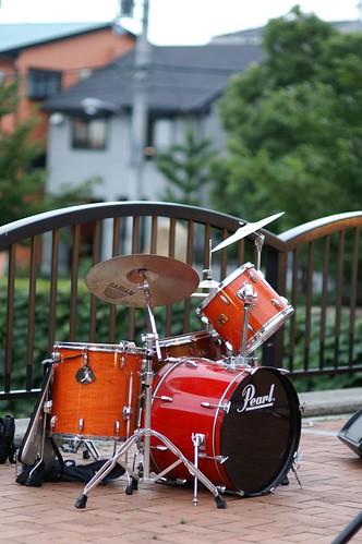 ドラムセット │ 物 │ 無料写真素材