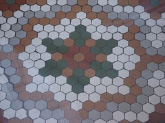 37 tiles (mag3737) Tags: tile floor mosaic 37 starofdavid 10up3 2000th pure37 37ofsomething
