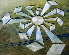 Crop circle (janet7r) Tags: wheat cropcircle 3ddesigntowers