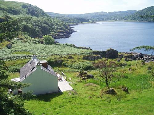 Tigh Beg on Loch Feochan, Argyll