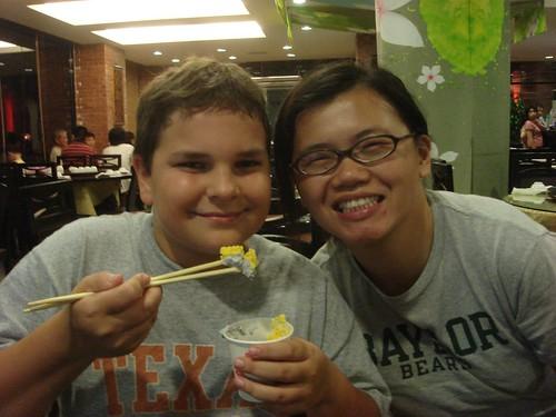 Ice Cream with Chopsticks!?!