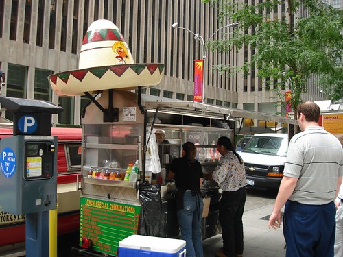Midtown NYC Taco Cart