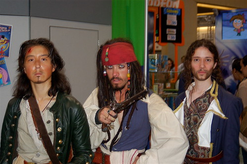 Comic Con 2006: Fine Young Pirates