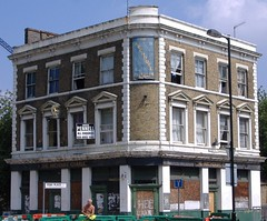 The Archduke Charles (sarflondondunc) Tags: london pub roadworks squat worker southwark walworth deadpub elephantcastle deadpubssociety deadpubs thearchdukecharles elbaplace heygatestreet zoliethehungarian