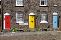 The Doors (Dean Ayres) Tags: uk england colour london doors ealing