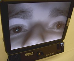 Controlling a Computer with Eyes