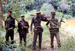 Jungle kings (gustaf wallen) Tags: men gun burma kings jungle soldiers guns myanmar burmese bodyguards burmeseyoungsoldiers manmyanmar