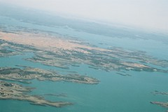Lake Nasser from Sky (ranicas) Tags: travel air egypt 2006 transportation aswan