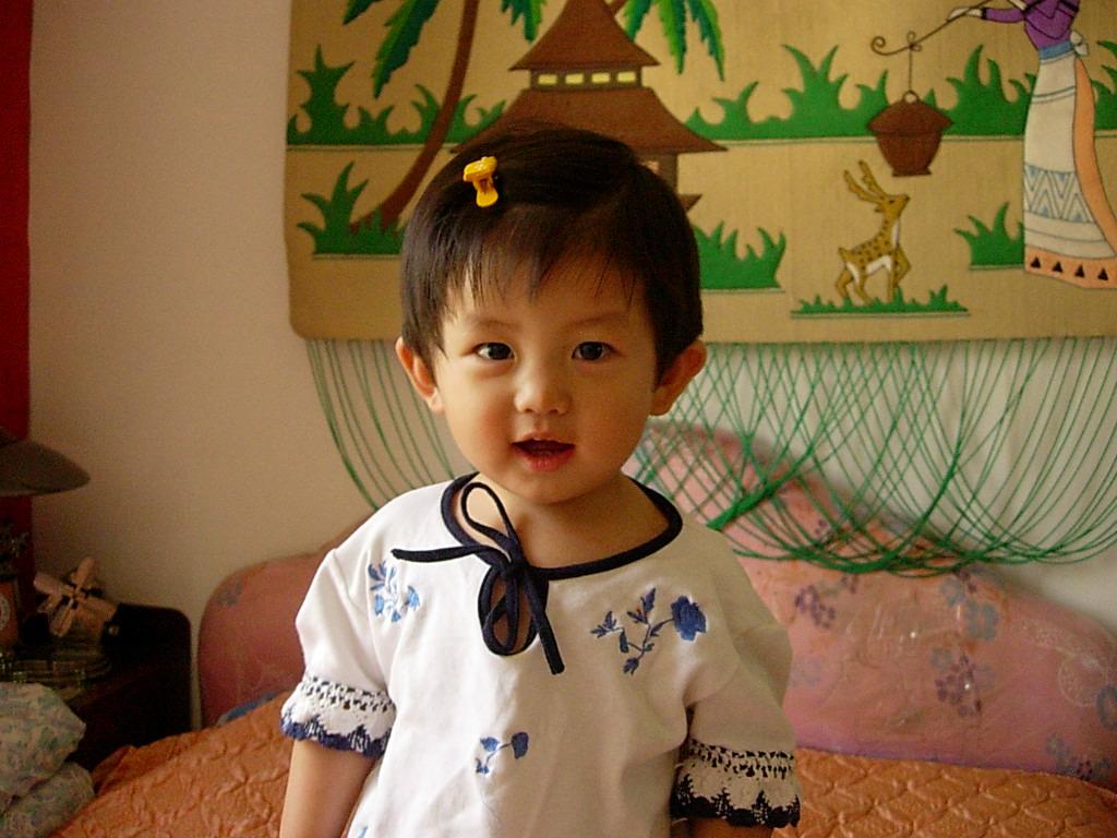 赵一丹1岁5个月
