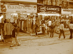 kakaji's garments, mount abu (Birds of Passage) Tags: mount shops abu garments