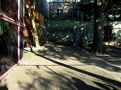 minetta playground shadows by Susan NYC, on Flickr