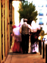 Away, for Now (jds293) Tags: madrid dreaming departure traditionaldress majos untilthenexttime