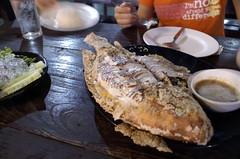 ปลาเผาพักสด