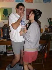 no pants berman and adam3 (fruitsoup) Tags: adam drunk berman