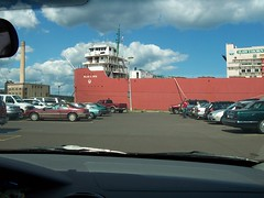 Duluth 10 parking lot (mestes76) Tags: ships movies duluth movietheaters williamairvin duluth10 081906