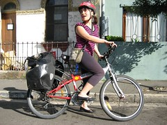 Phuong Panniers (Mickie Quick) Tags: friends bike bicycle trailer chippendale newtown load movinghouse removals environmentallyfriendly panniers biketrailer