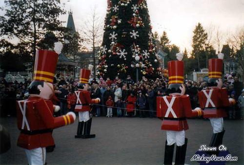 Disneyland Resort Paris December 2003 at Disney Character