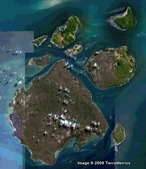 Inner Group of Island (Google Earth)